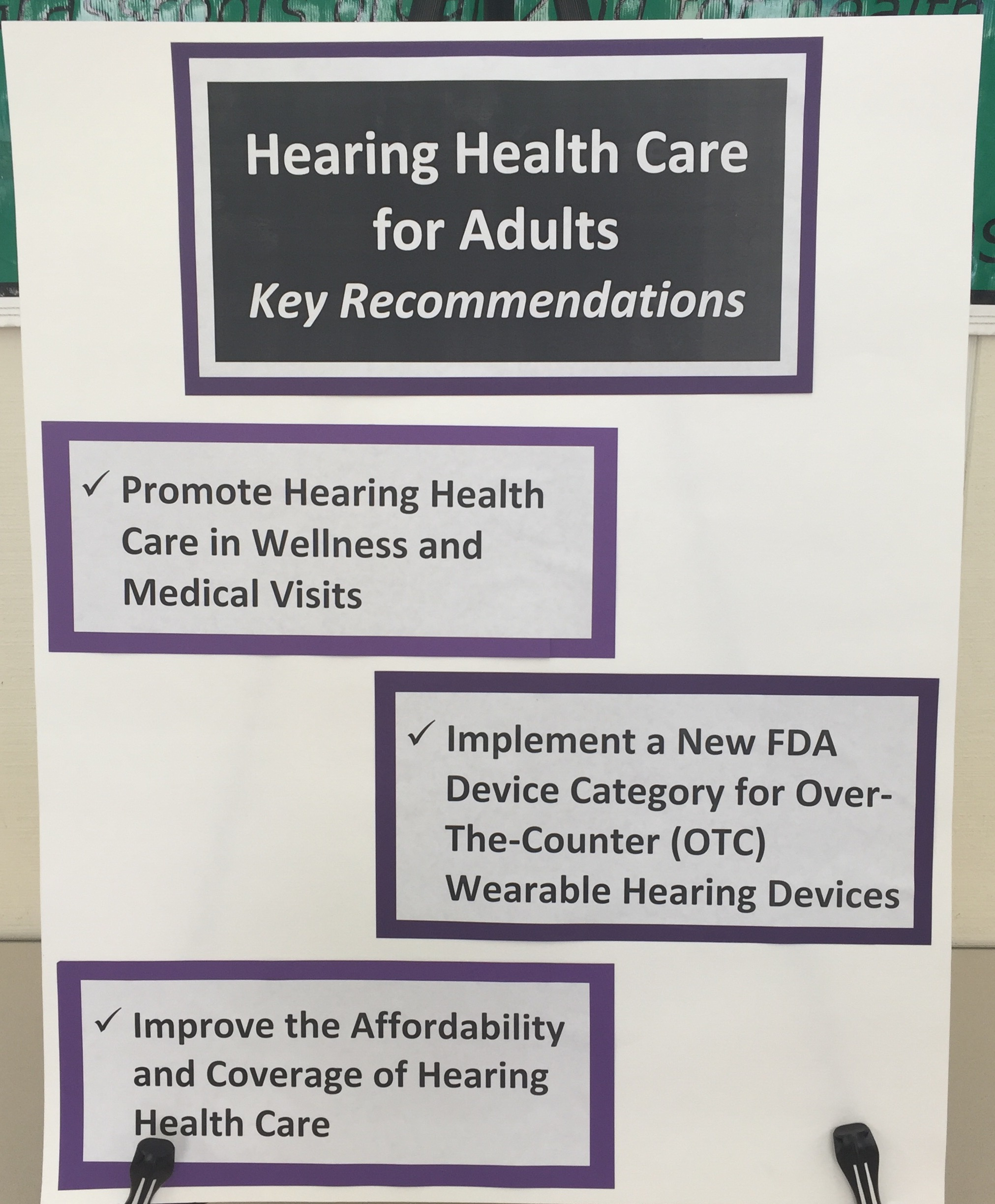 Hearing Aid Recommendations