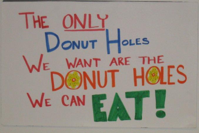 Donut holes